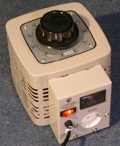 абораторный автотрансформатор «Штиль»: общий вид