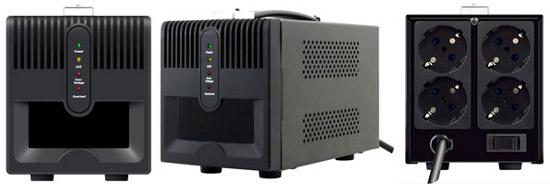 IPPON 1000VA и 2000VA - стабилизаторы напряжения защитят домашний технопарк