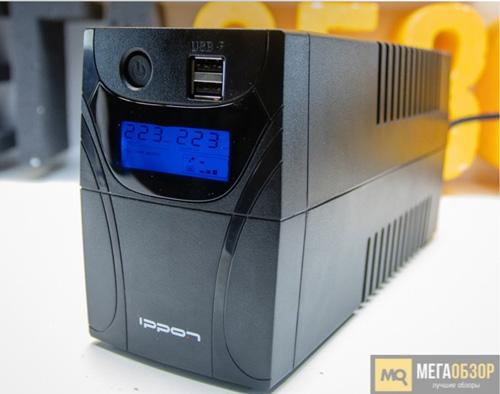 Обзор IPPON Back Power Pro II 600. Линейно-интерактивный ИБП.
