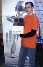 Алексей Еньшин - победитель конкурса зрителей