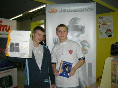 Конкурс Jetbalance и Oklick